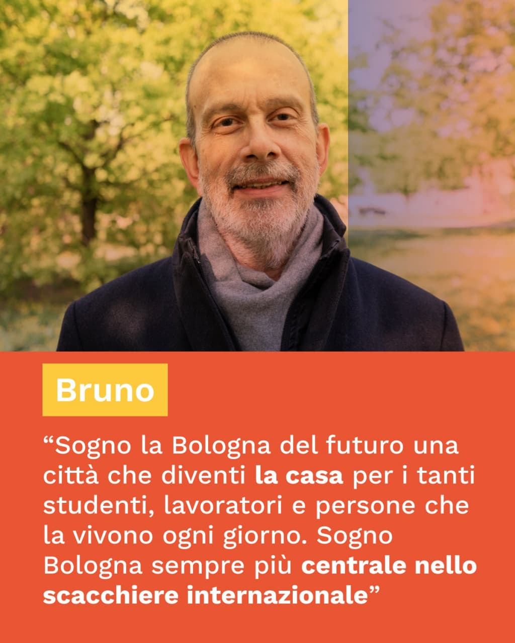 Bruno racconta incontra Bologna